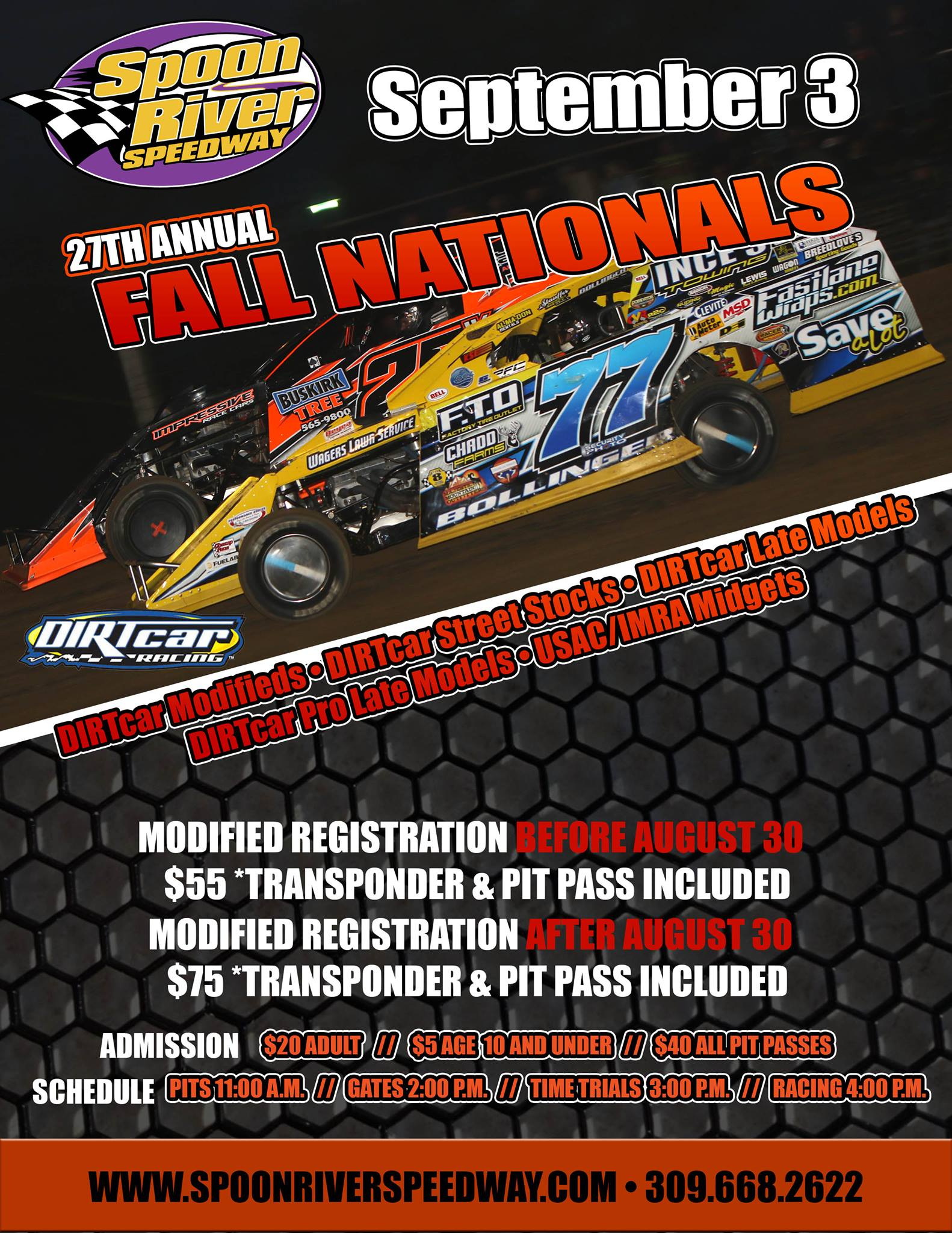Fall Nat Flyer Pre Registration