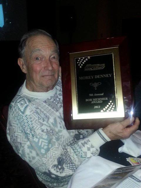 Dad with Bob Mermmer Award